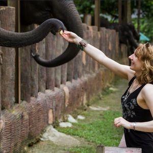 Paisley elephant tank top